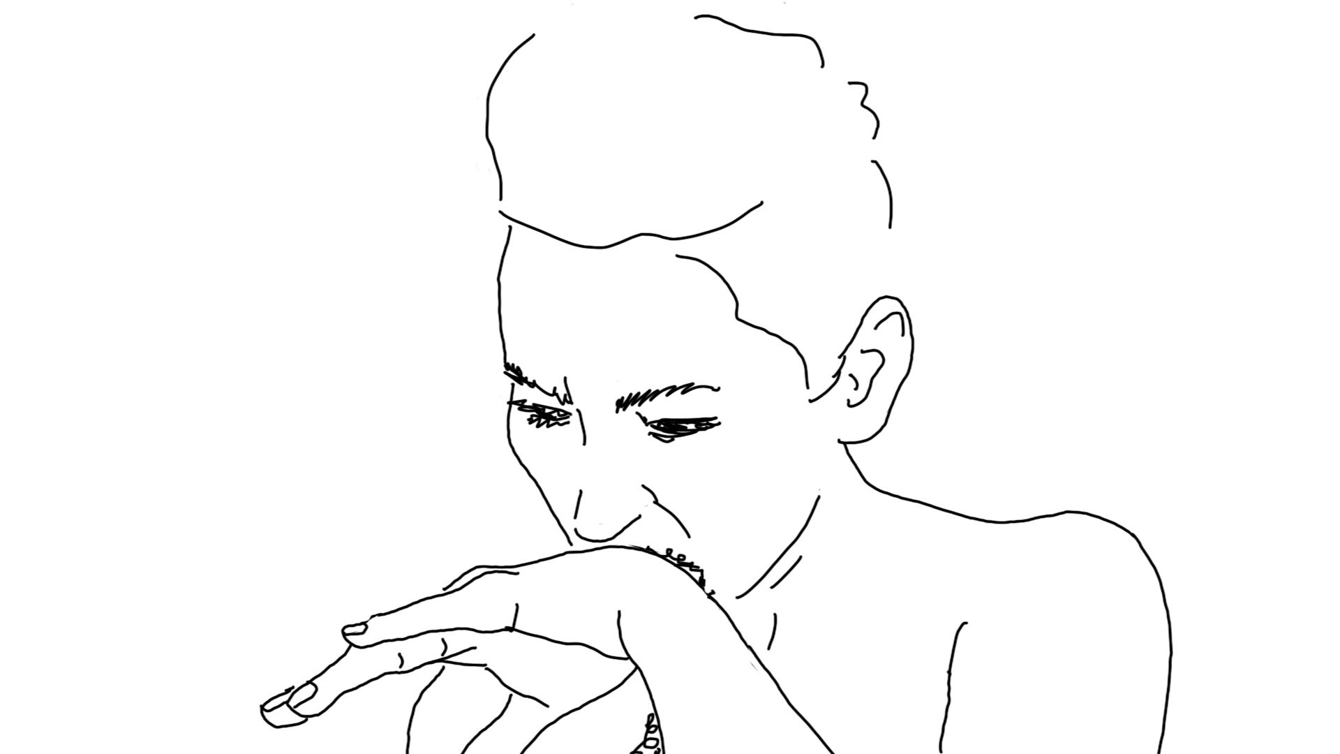 Line Drawing Animation : Fine line christina bredahl duelund
